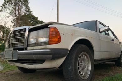 W123 ベンツ 230E リフレッシュしませんか?