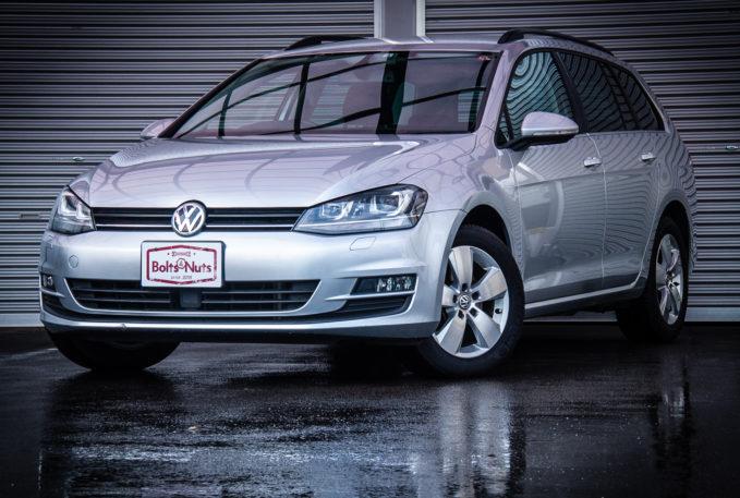 VW ゴルフ7ハッチ&ヴァリアント入庫しました!